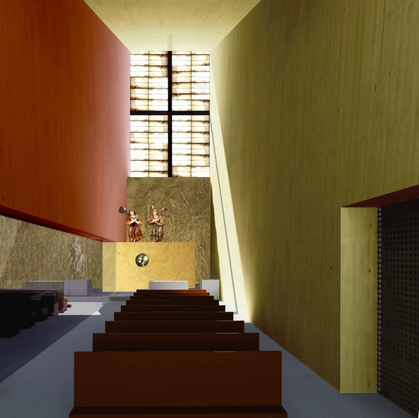 Vista de la Capilla del Santísimo