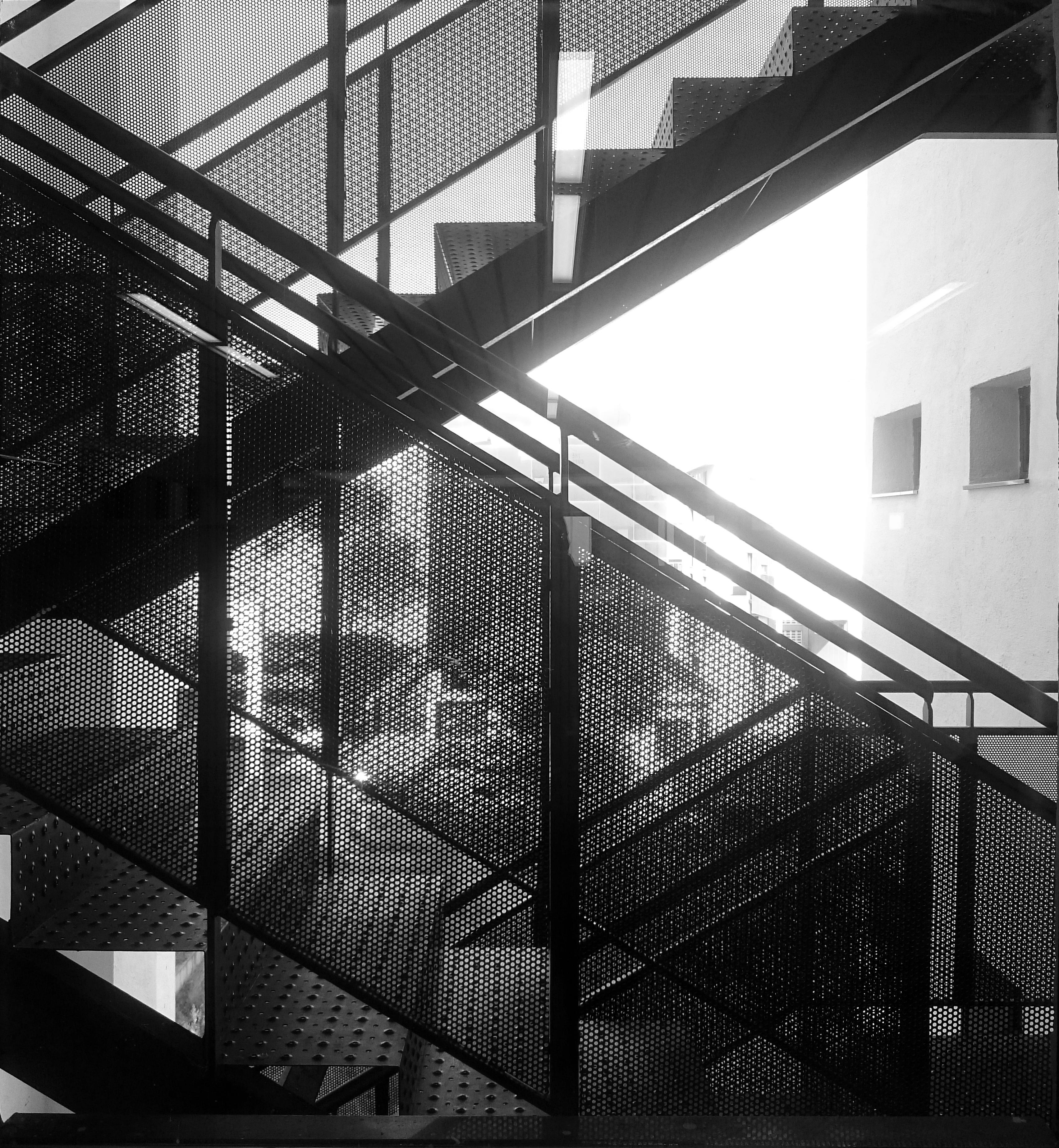 EMERGENCY STAIRCASE · © Espinosa + Moreno Arquitectos