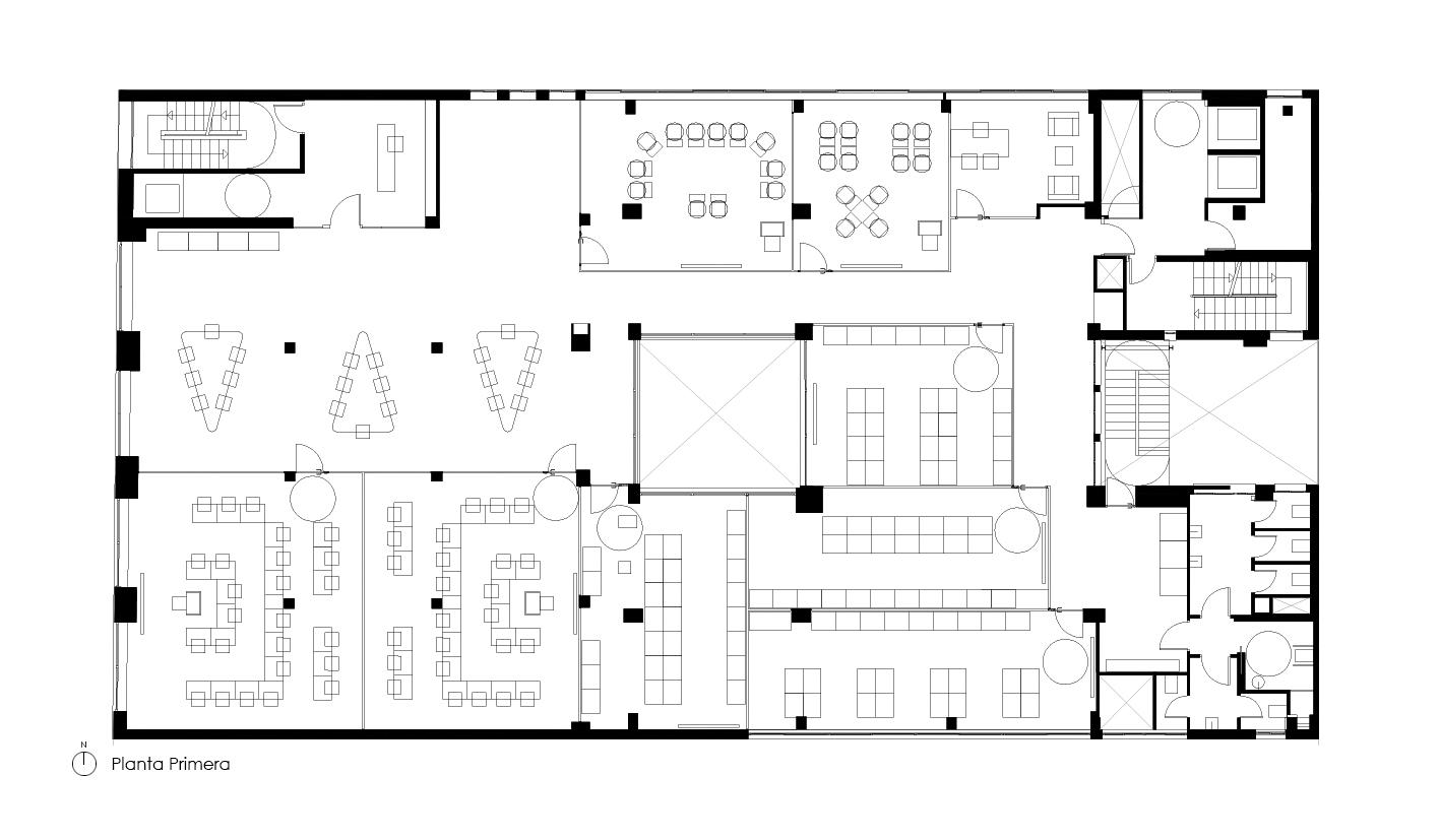 1ST FLOOR · © Espinosa + Moreno Arquitectos