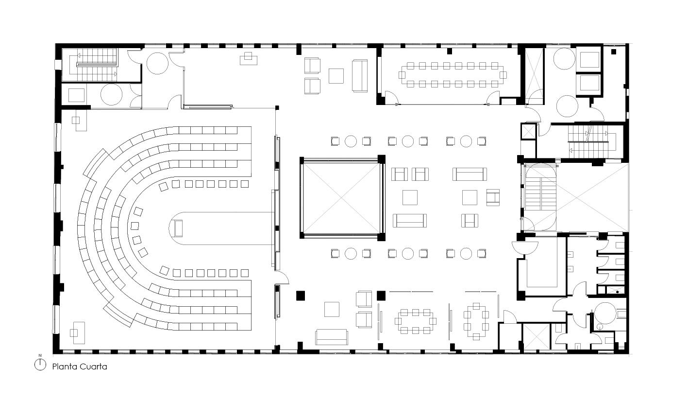 4TH FLOOR · © Espinosa + Moreno Arquitectos