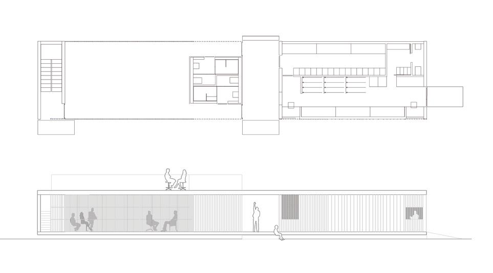 Ground floor and elevation