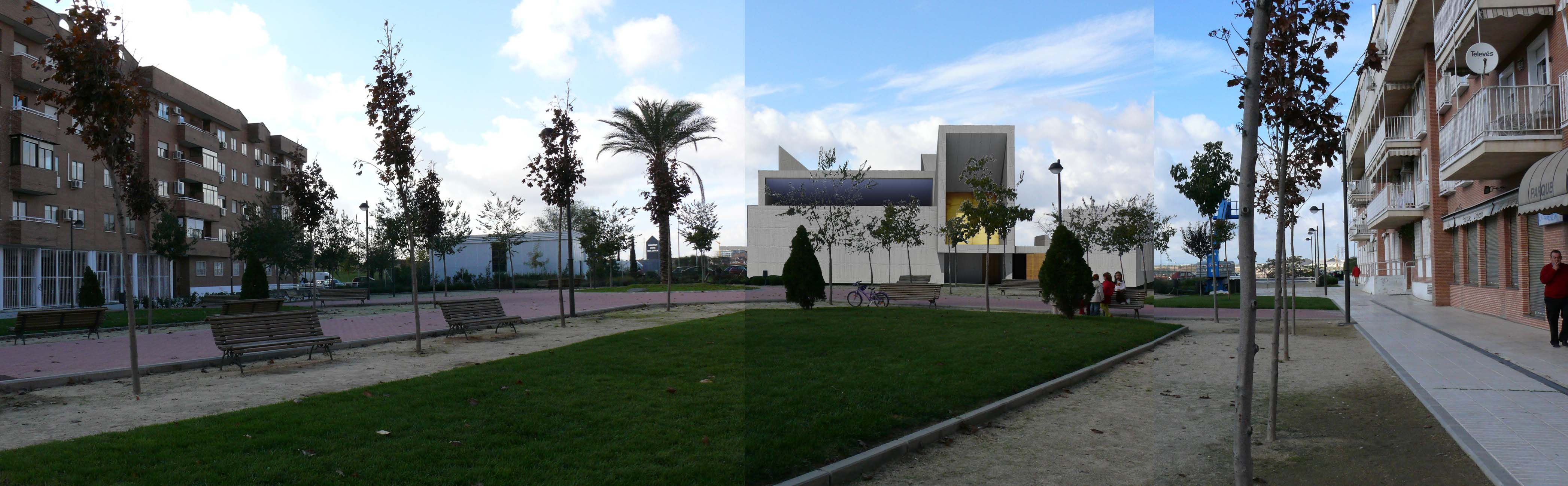 Vista desde la plaza