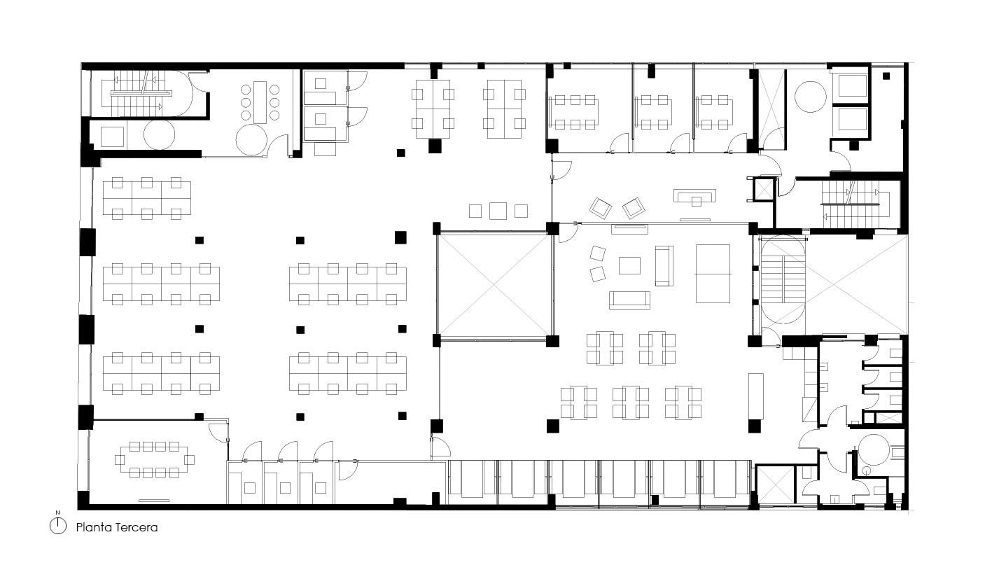 3RD FLOOR · © Espinosa + Moreno Arquitectos
